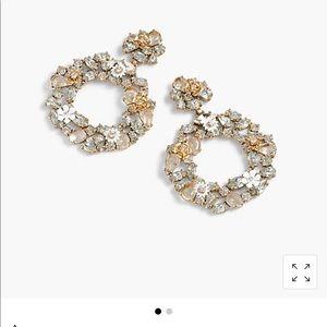 Beautiful J Crew crystal statement earrings